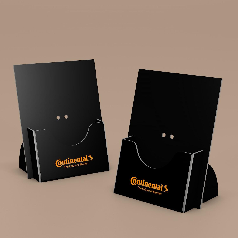 Диспенсер для брошюр и листовок Континенталь