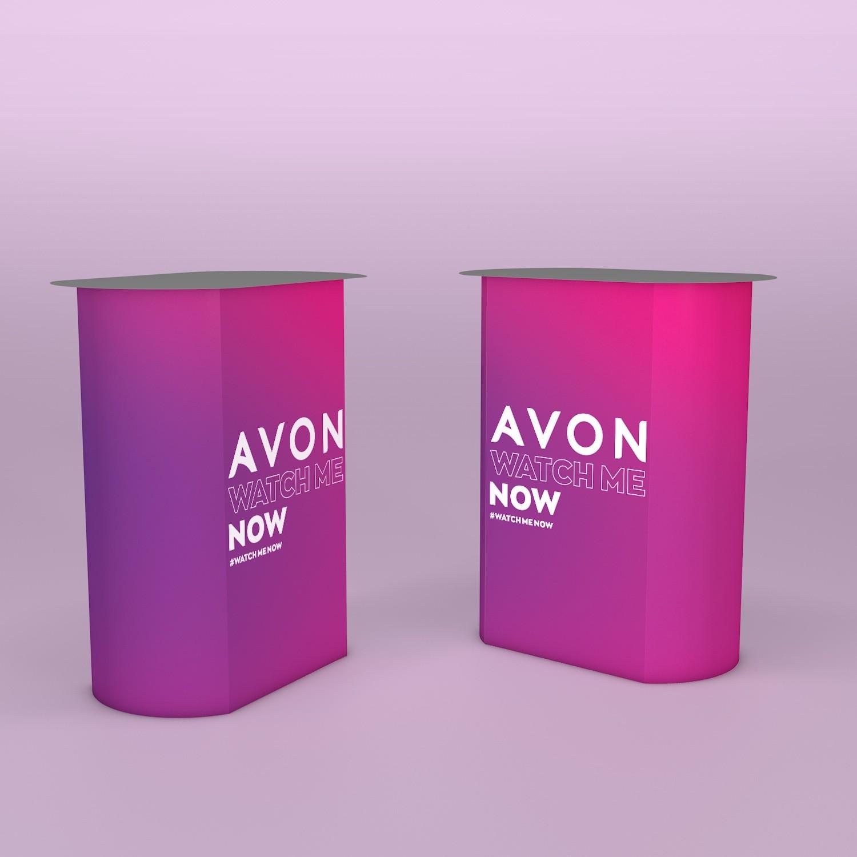 Автоматический напольный промо-стол PanaTable Avon
